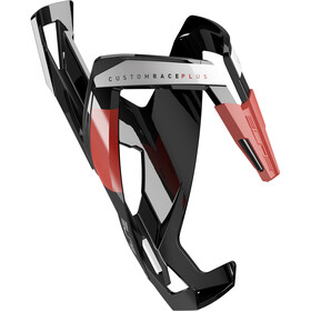 Elite Custom Race Plus Bottle Holder black/glossy red